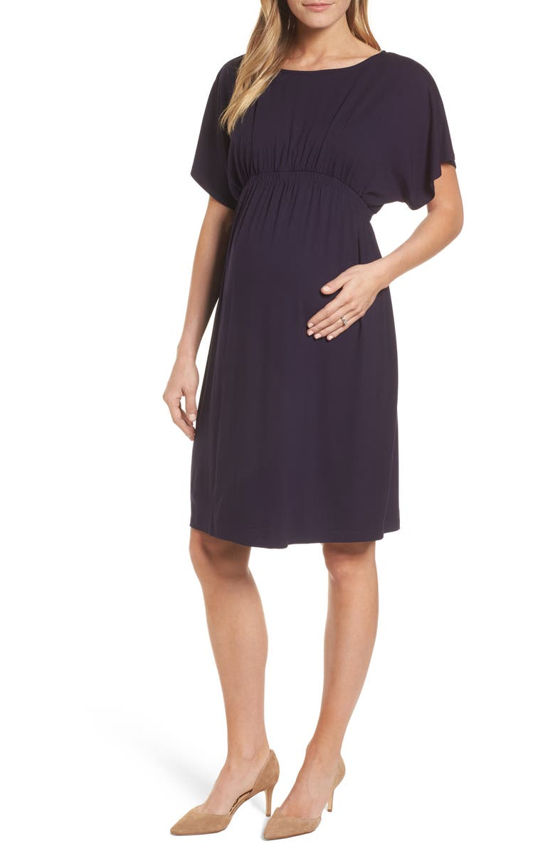 ISABELLA OLIVER Leila Maternity Dress, Main, color, 400