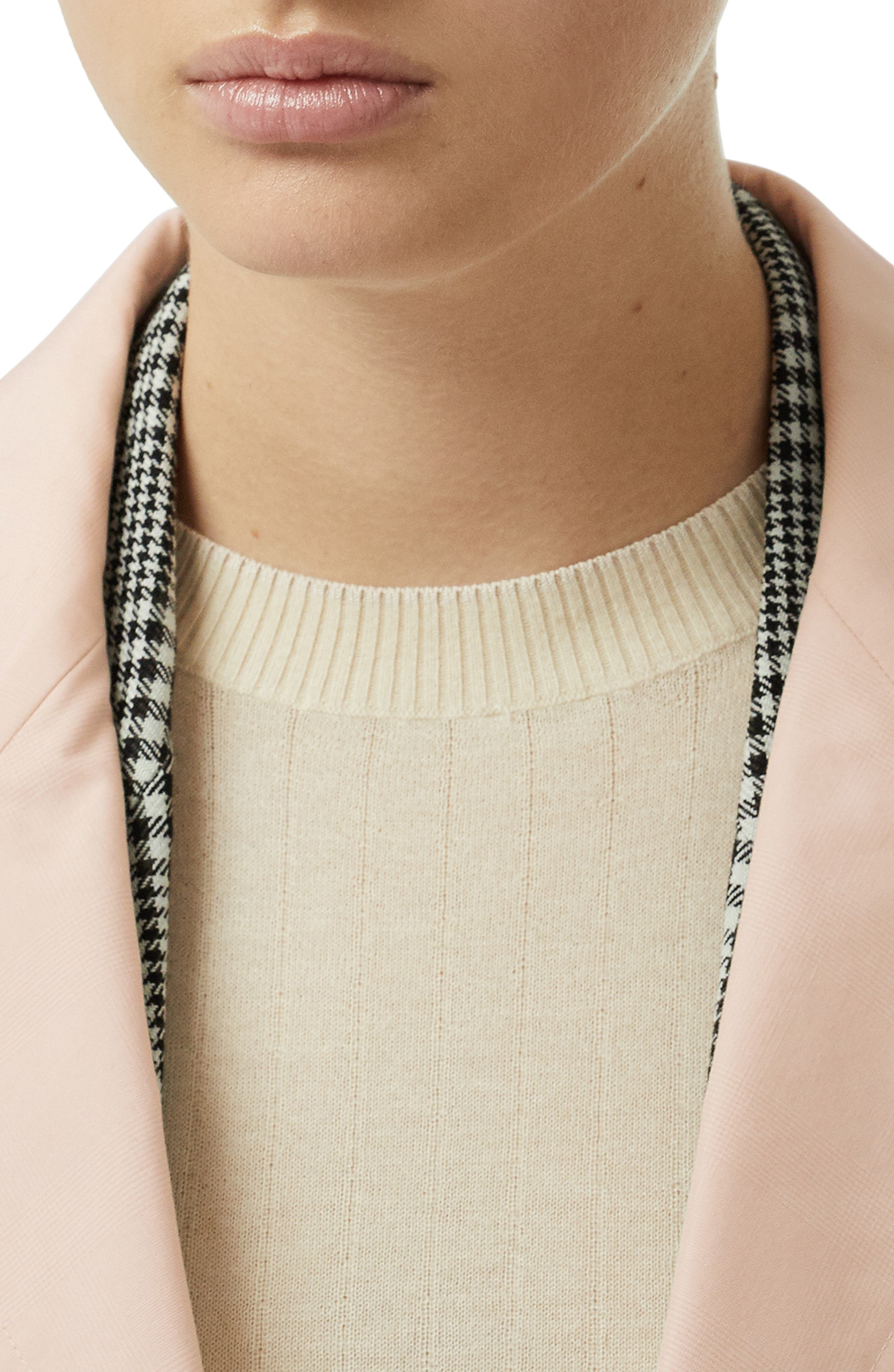 ,                             Edenderry Trench Coat,                             Alternate thumbnail 3, color,                             CHALK PINK CHECK