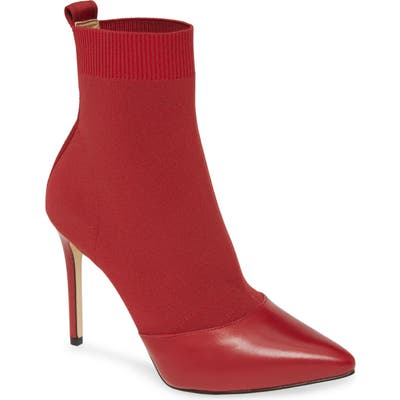 Michael Michael Kors Vicky Bootie, Red