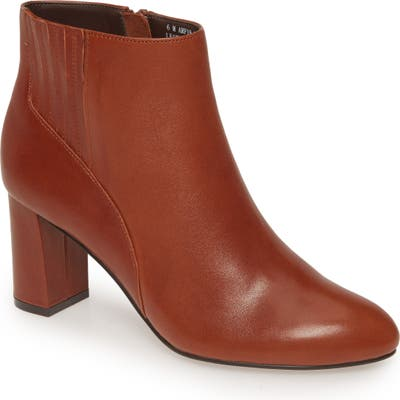 David Tate Delores Bootie- Brown