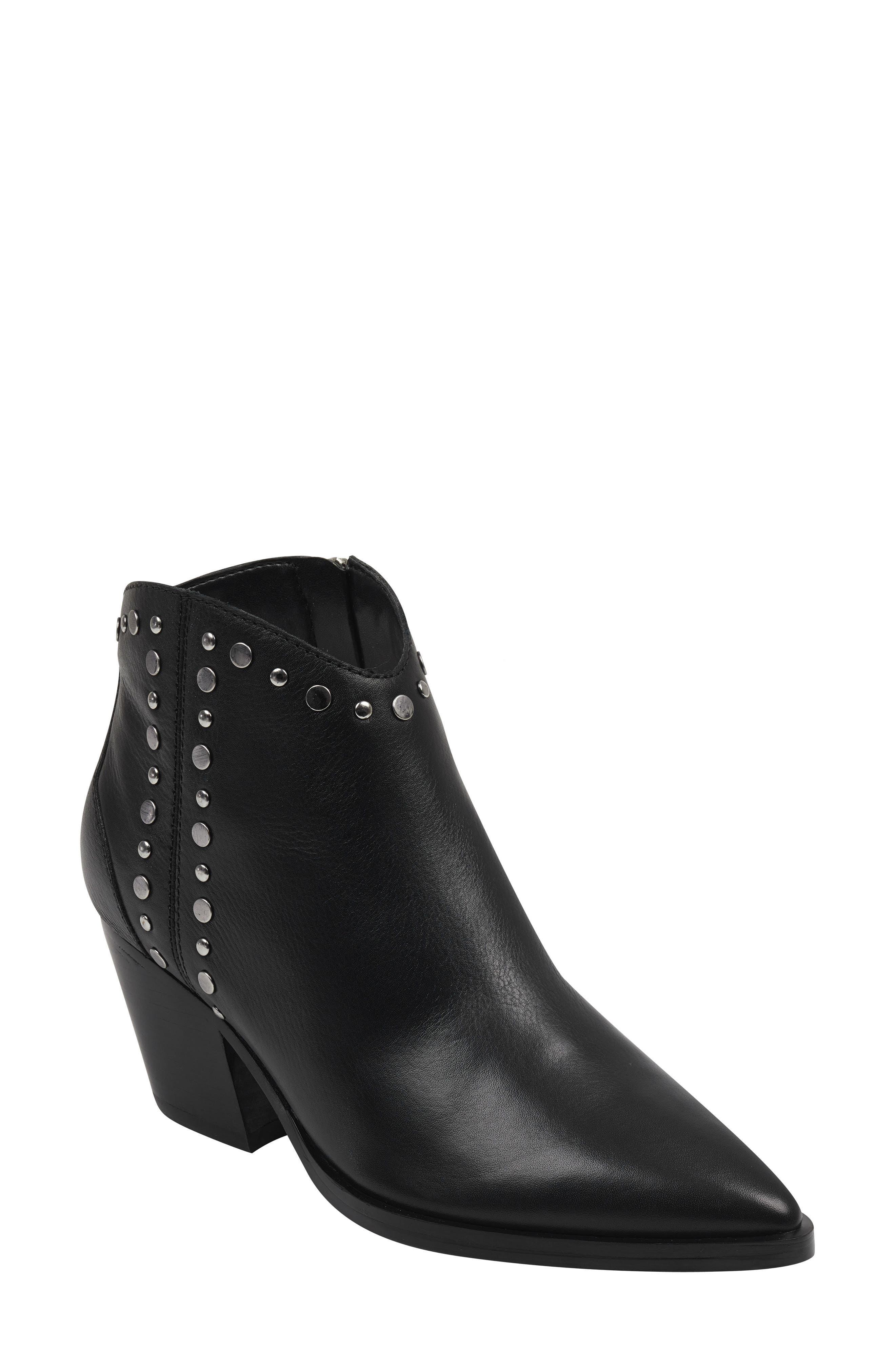 Marc Fischer Ltd Deni Studded Bootie- Black