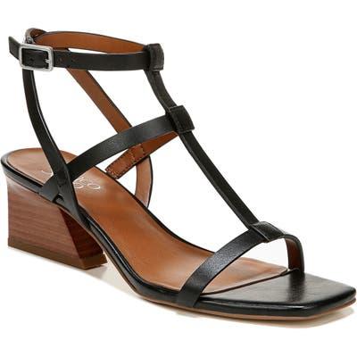 Franco Sarto Chopra T-Strap Sandal- Black