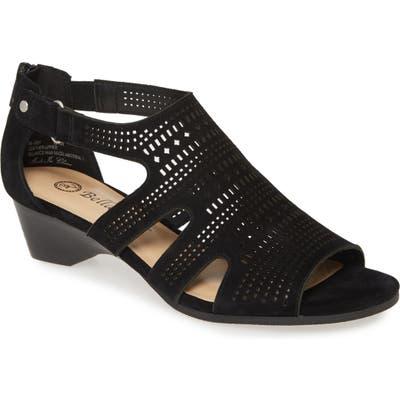 Bella Vita Quinby Sandal, Black