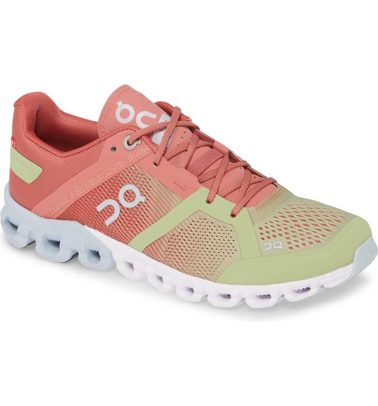 ON Cloudflow Running Shoe, Main, color, GUAVA/ DUST ROSE