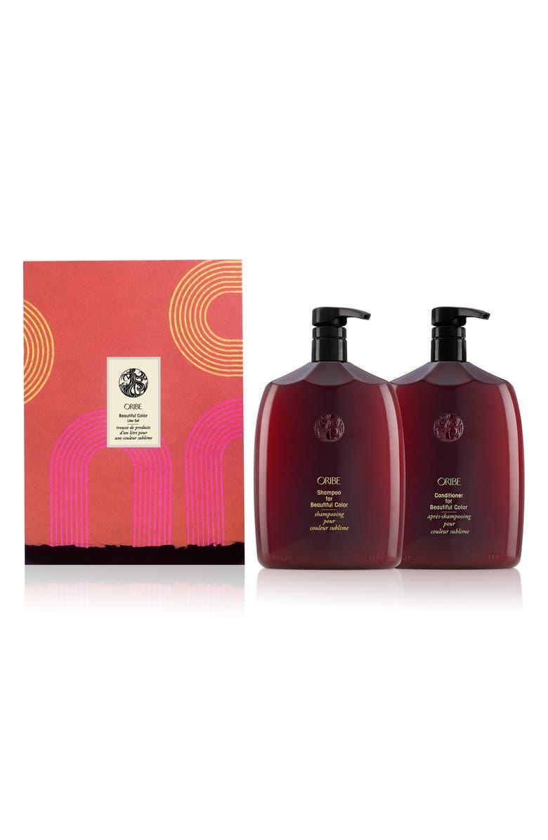 ORIBE Jumbo Size Beautiful Color Shampoo & Conditioner Set, Main, color, NO COLOR