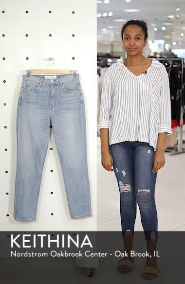 Julia Crop High Waist Cigarette Jeans, sales video thumbnail