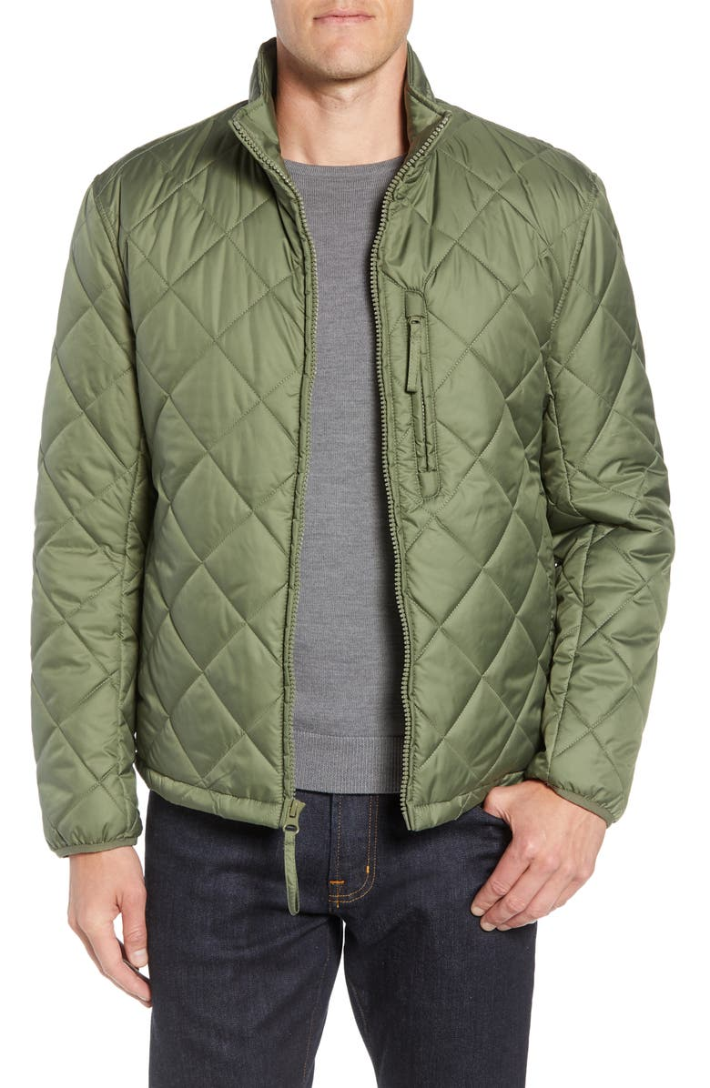 MARC NEW YORK Humboldt Quilted Jacket, Main, color, OLIVE