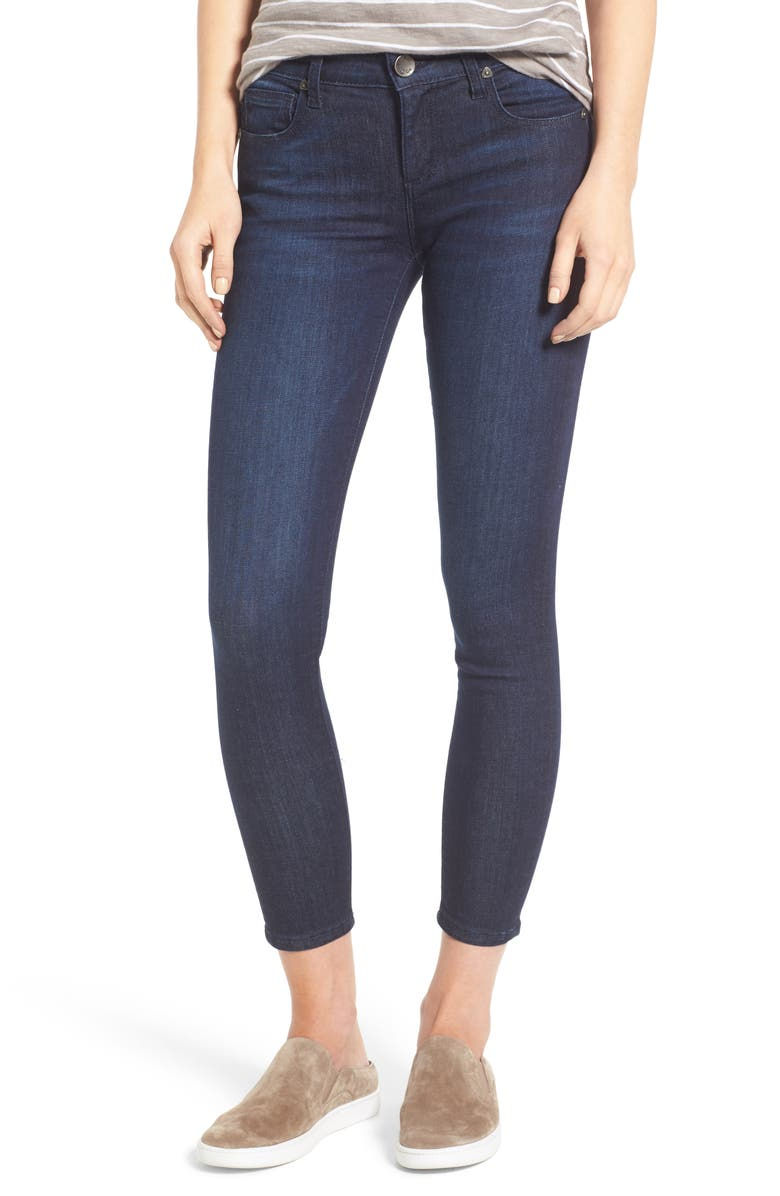 KUT FROM THE KLOTH Brigitte Stretch Skinny Crop Jeans, Main, color, 480
