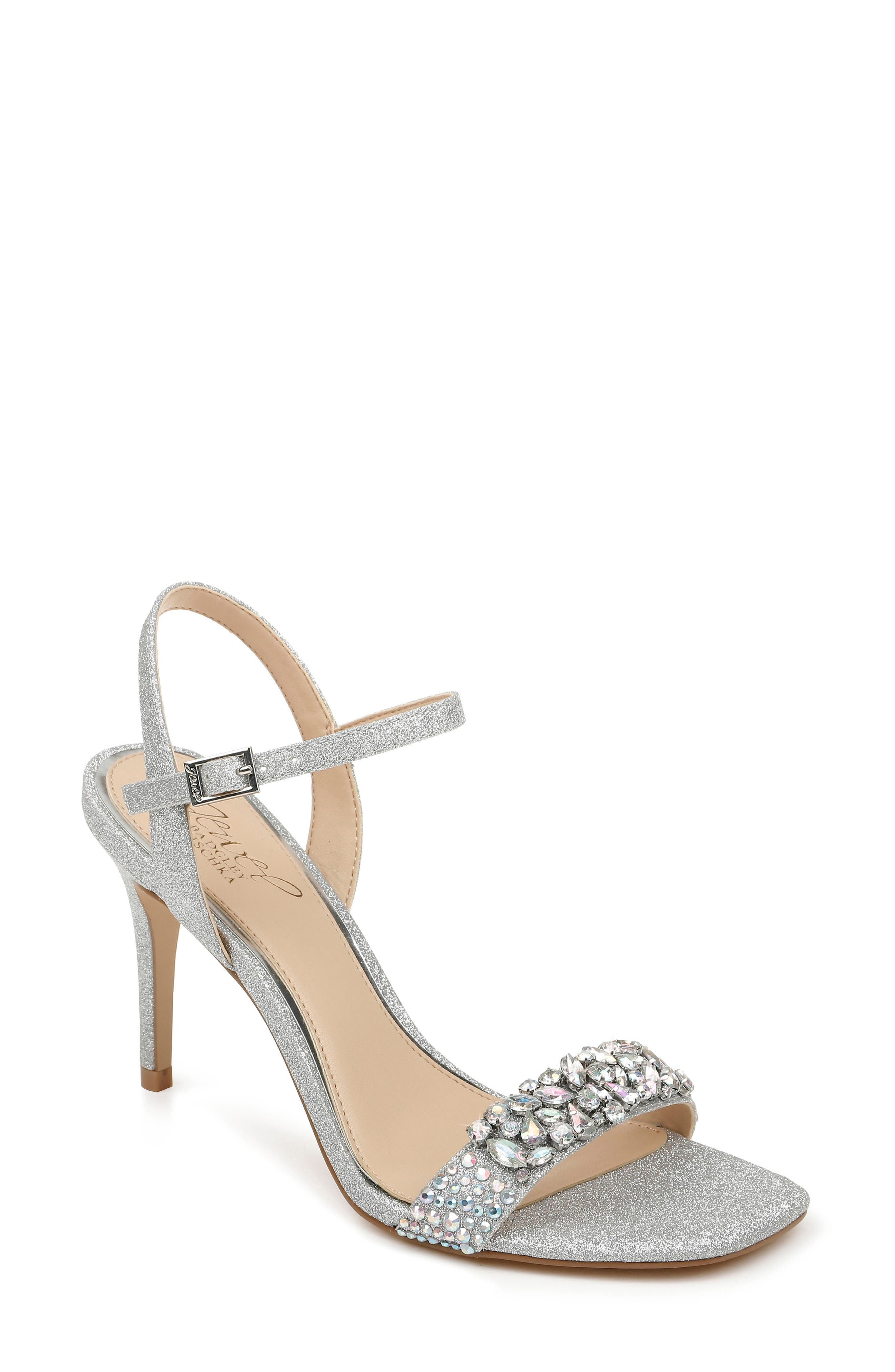 Natasha Crystal Embellished Sandal