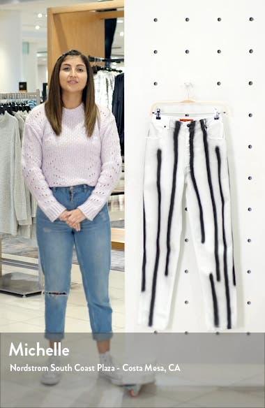 EL Hand Sprayed High Waist Jeans, sales video thumbnail