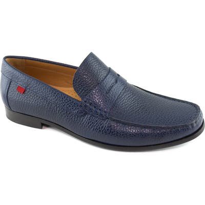 Marc Joseph New York Windsor Penny Loafer, Blue