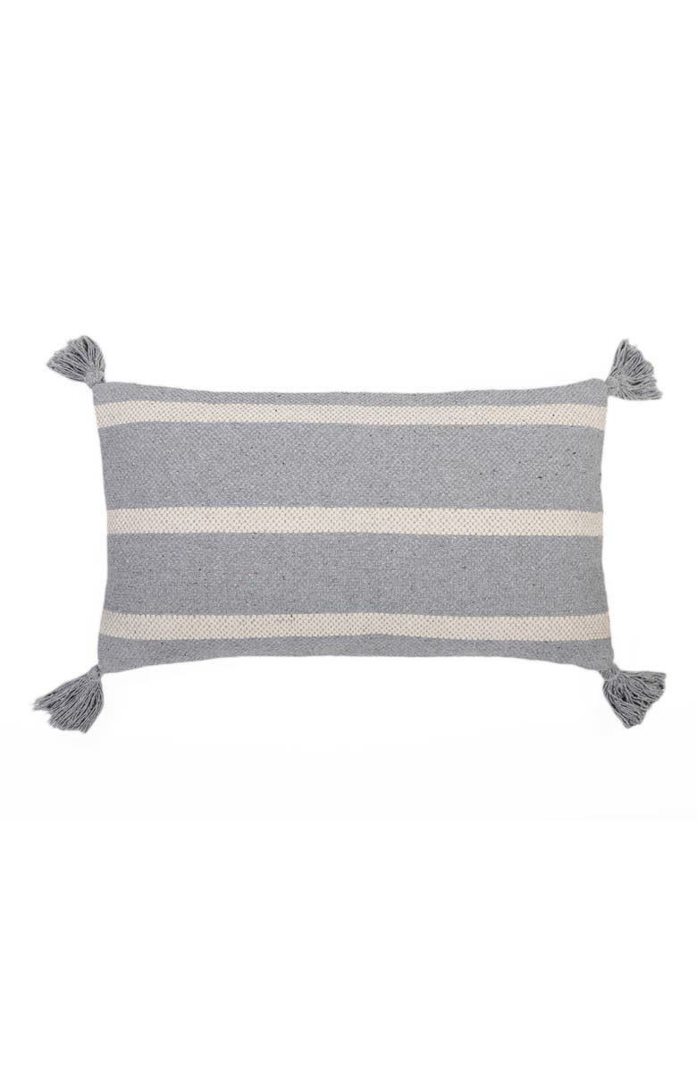 POM POM AT HOME Jane Accent Pillow, Main, color, BLUE GREY