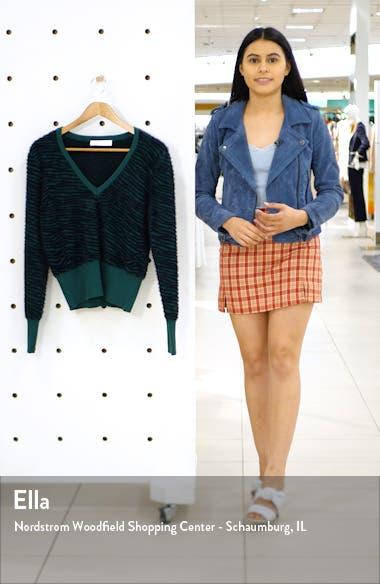 Tiger Stripe V-Neck Sweater, sales video thumbnail