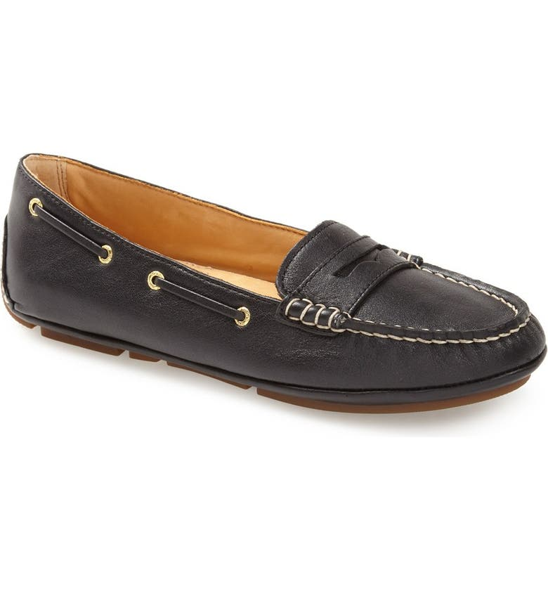 SPERRY 'Gold Cup' Driving Loafer, Main, color, 001
