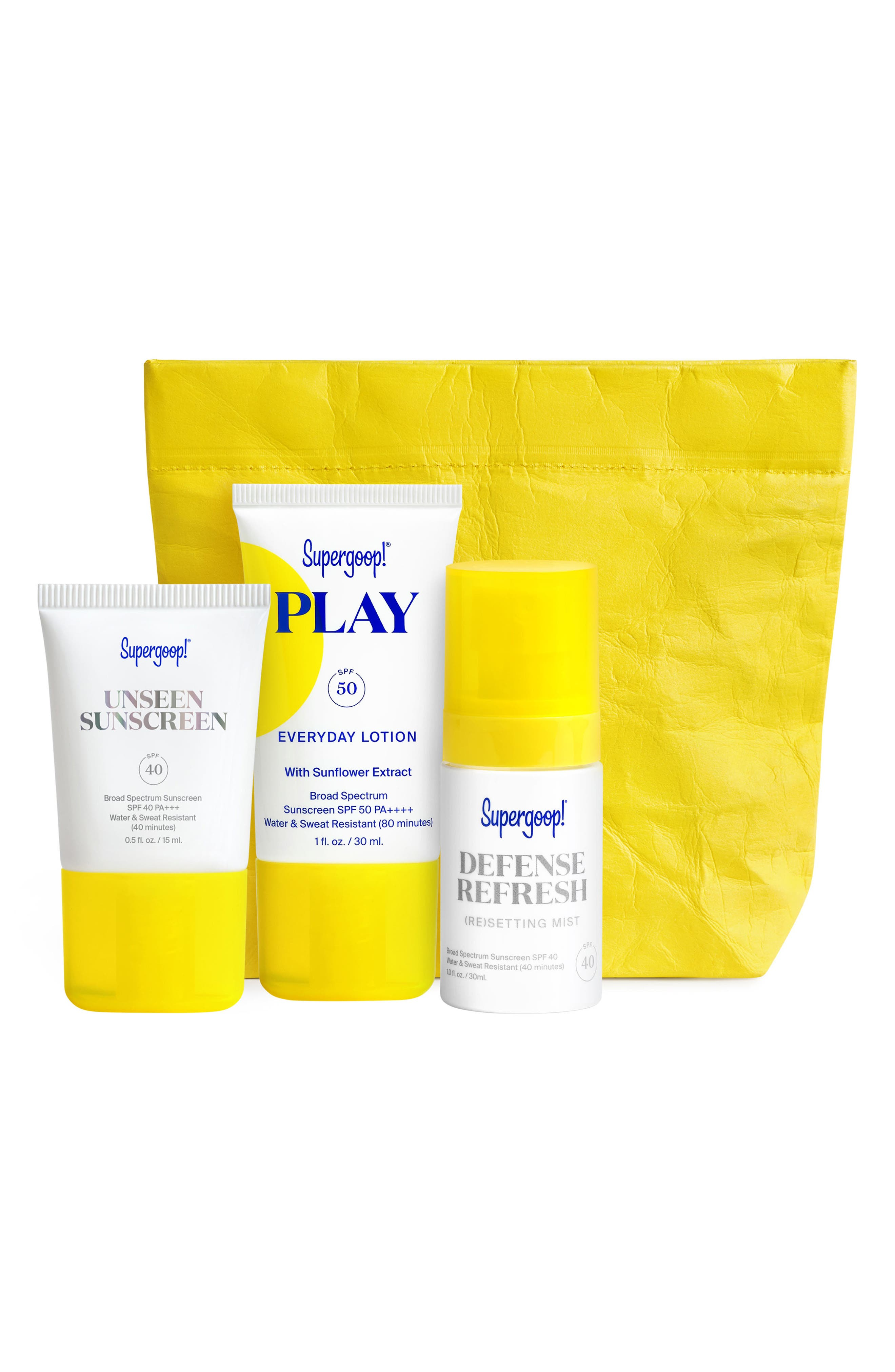 Supergoop! SPF From Head-to-Toe Sunscreen Set | Nordstrom