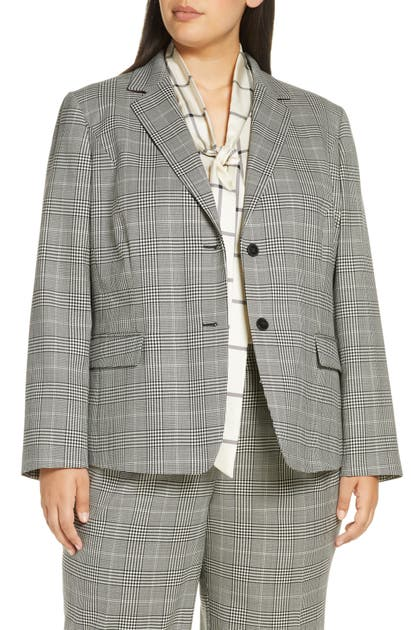 Lafayette 148  THATCHER STRETCH WOOL BLAZER