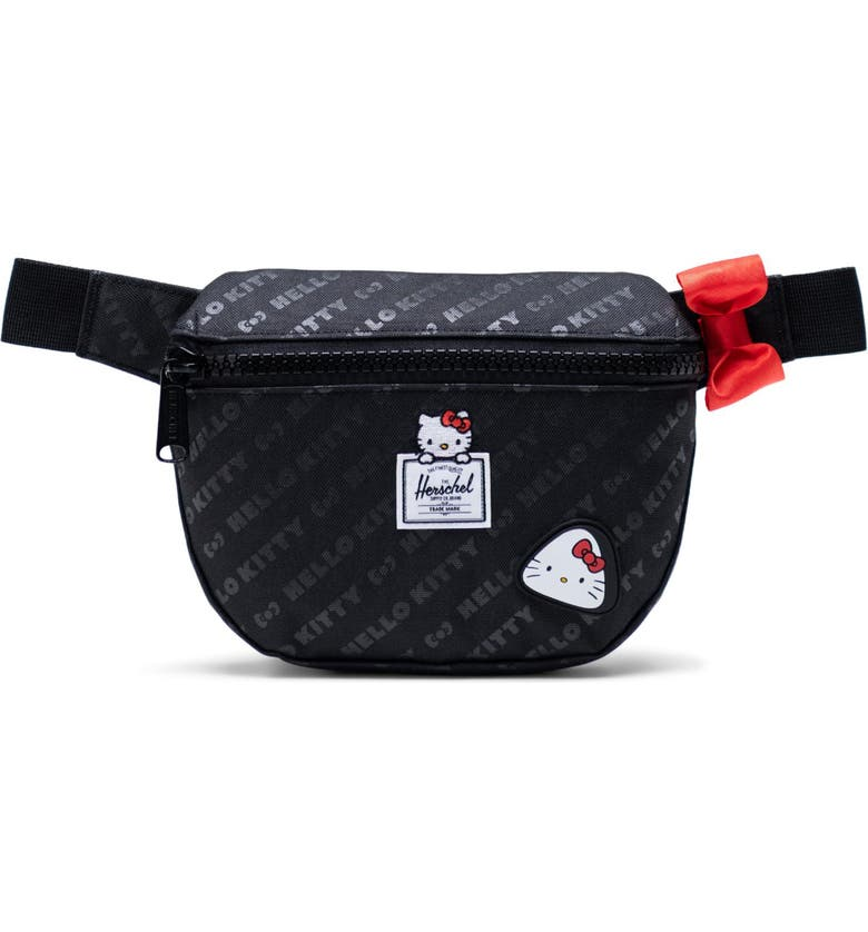 HERSCHEL SUPPLY CO. Fifteen Belt Bag, Main, color, BLACK BENTO