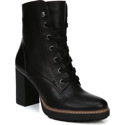 Naturalizer Callie Lace-Up Boot- Black