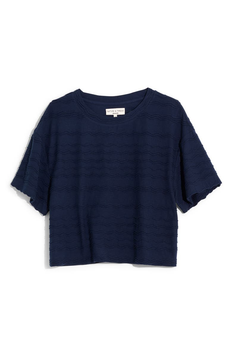 MADEWELL Scallop Stripe Top, Main, color, 400