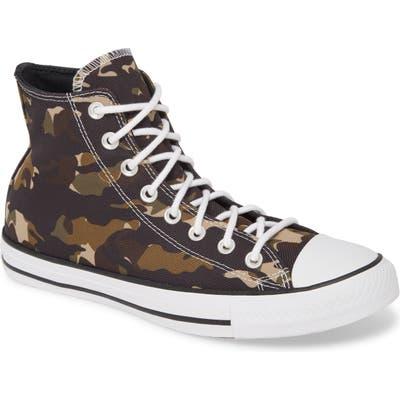 Converse Chuck Taylor All Star Hi Sneaker, Brown