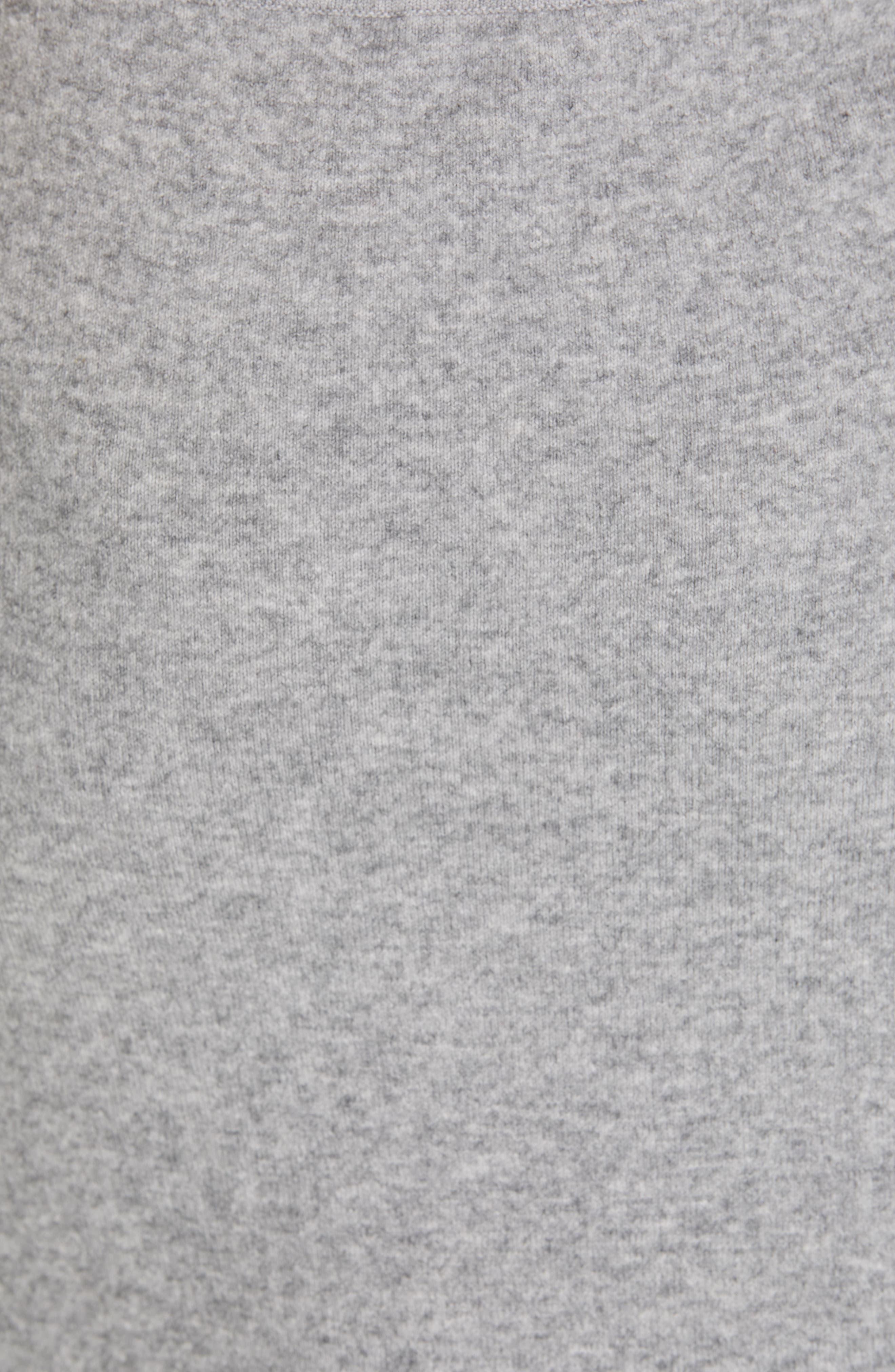 ,                             Knit Skirt,                             Alternate thumbnail 5, color,                             H STEEL
