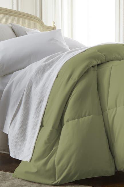 Image of IENJOY HOME Home Spun All Season Premium Down Alternative King Comforter - Sage