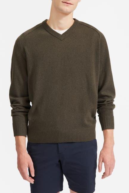 Image of EVERLANE Cashmere Blend V-Neck Sweater