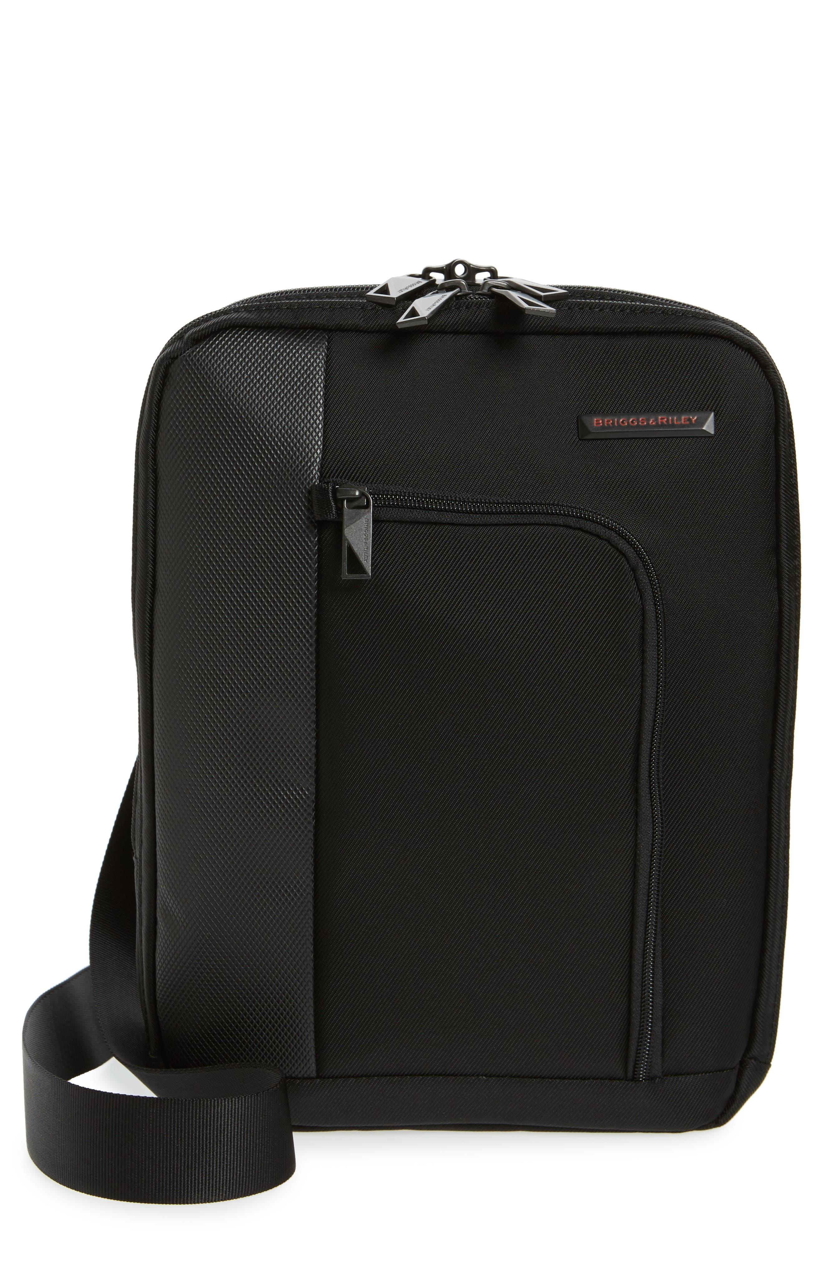 Verb - Link Crossbody Bag, Main, color, BLACK