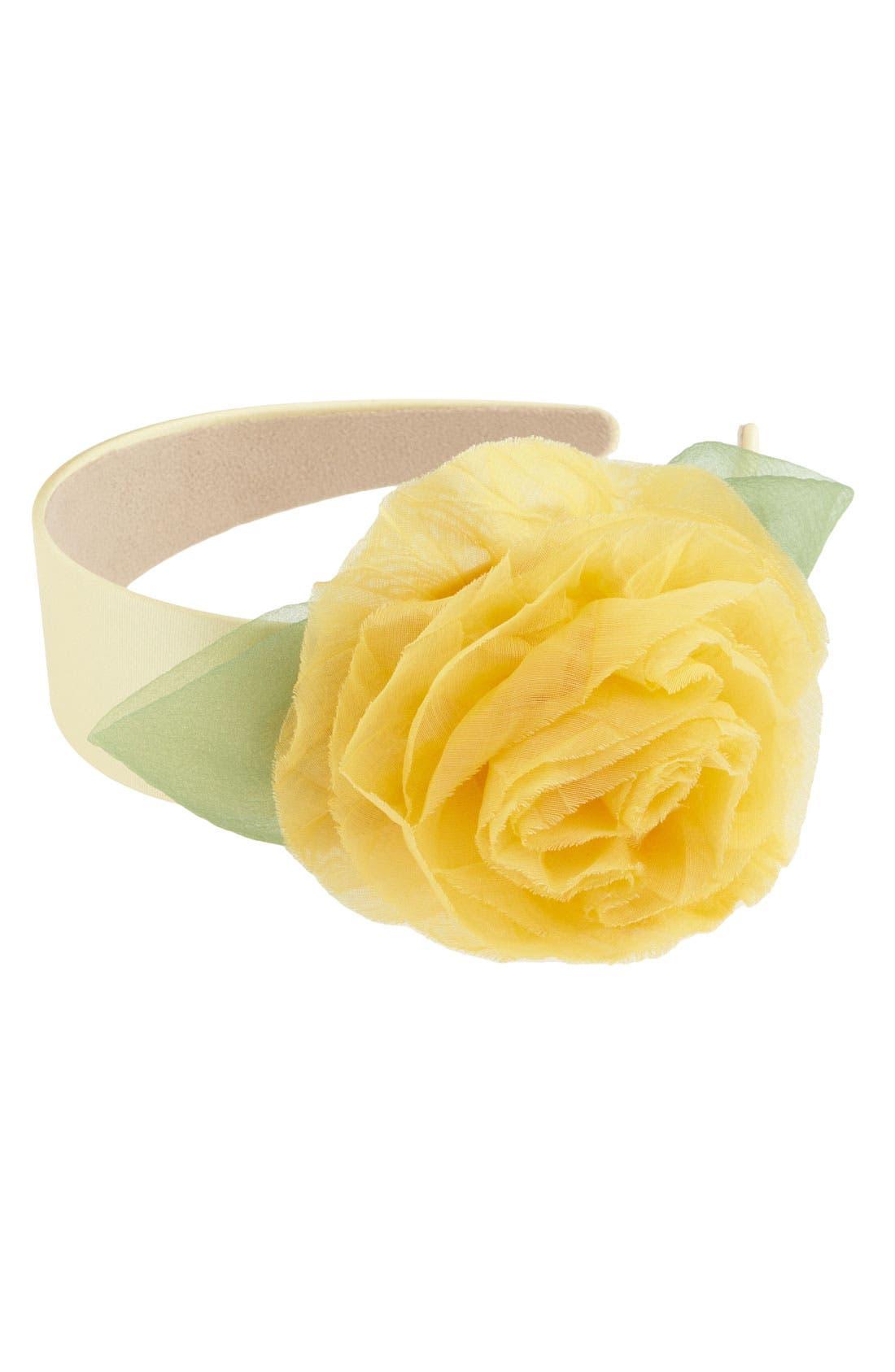 ,                             Floral Headband,                             Main thumbnail 7, color,                             700