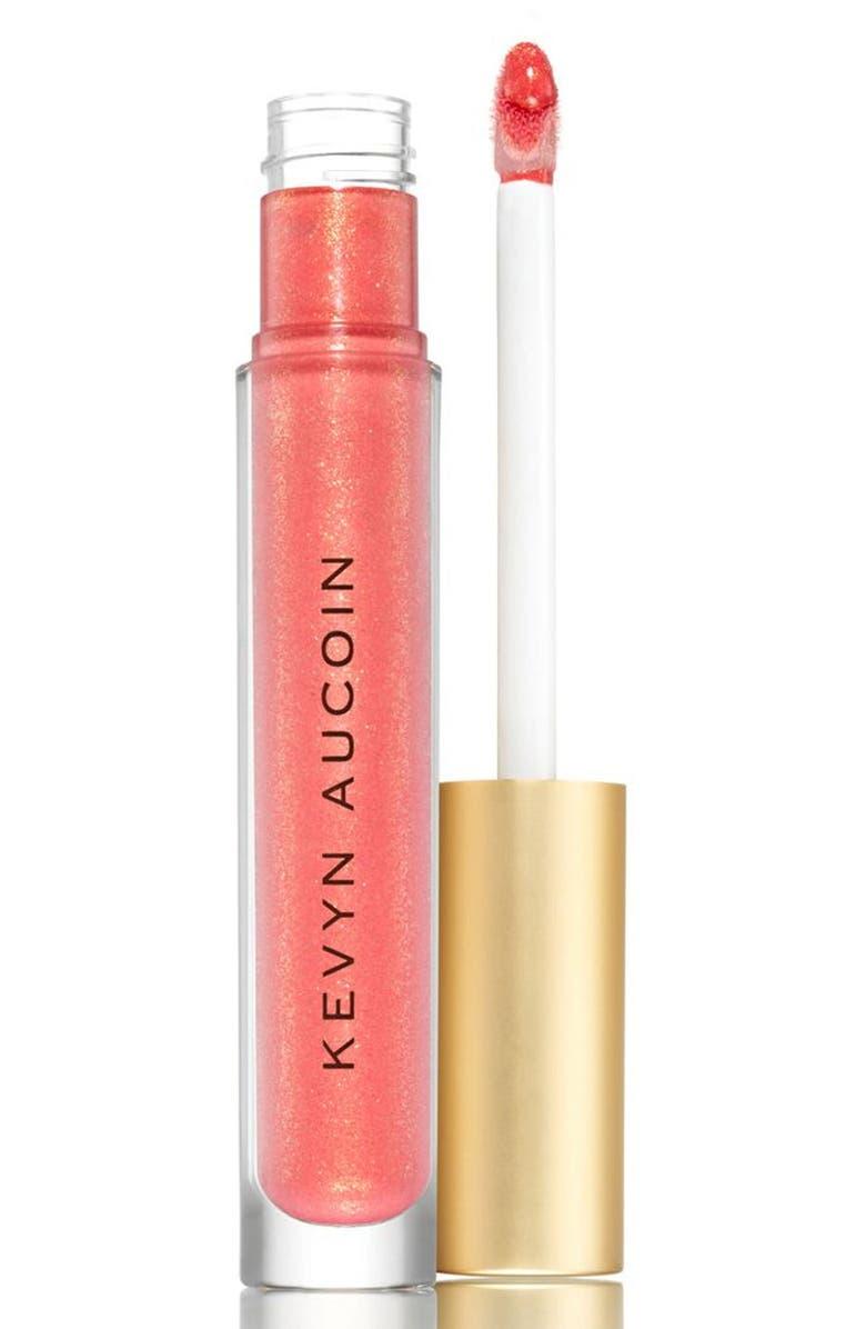 KEVYN AUCOIN BEAUTY Liquid Lip Molten Metals, Main, color, POPPY TOPAZ