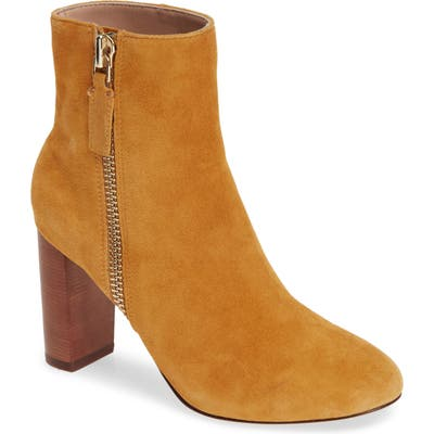 James Chan Delia Bootie, Brown