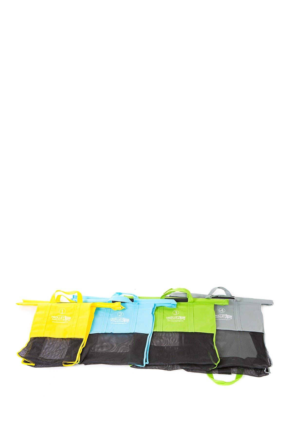 Image of BergHOFF Multi Original Pastel Trolley Bags - Set of 4