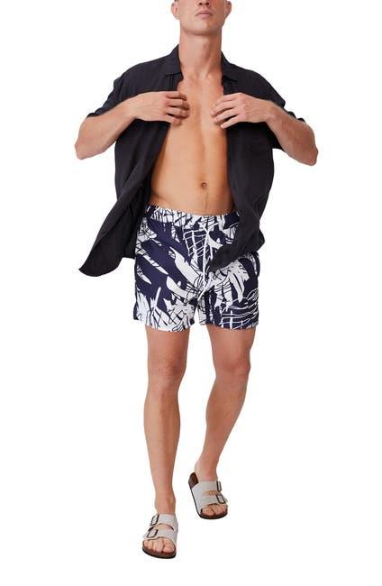 Image of Cotton On Floral Print Swim Shorts