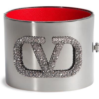 Valentino Go Logo Cuff Bracelet