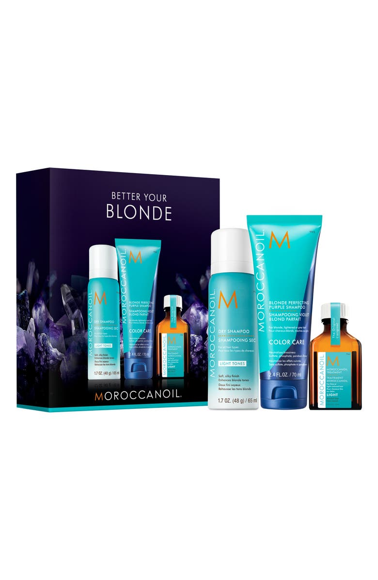 MOROCCANOIL<SUP>®</SUP> Better Your Blonde Haircare Set, Main, color, 000