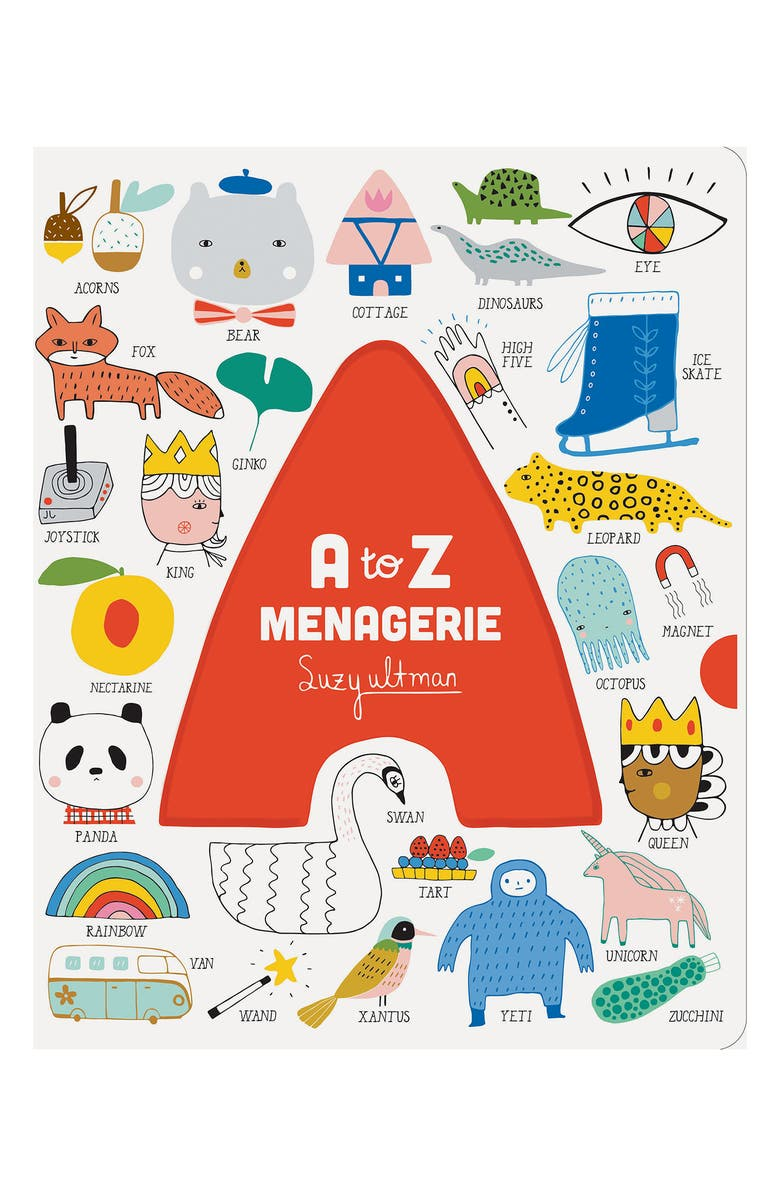 CHRONICLE BOOKS 'A to Z Menagerie' Book, Main, color, 960