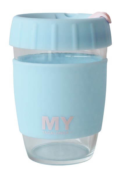 Image of MYTAGALONGS Glass Coffee Cup - Blue