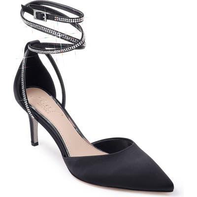 Jewel Badgley Mischka Sabrina Crystal Embellished Pump, Black