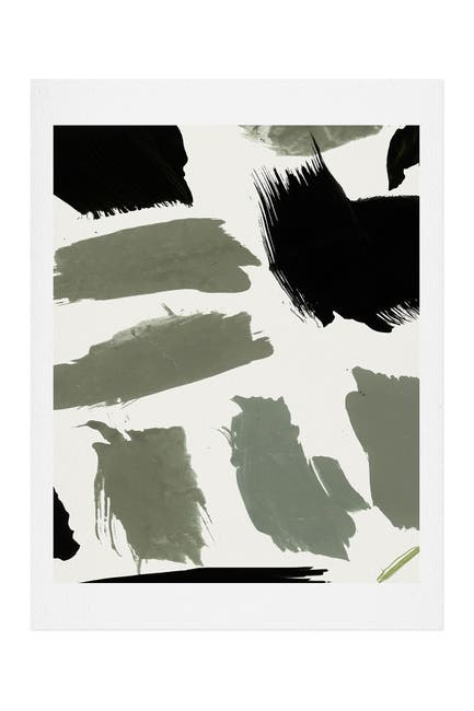 Image of Deny Designs Iris Lehnhardt abstract marks 01 Art Print
