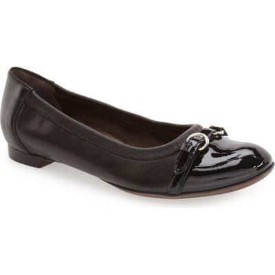 Agl Cap Toe Ballet Flat3.5EU - Black