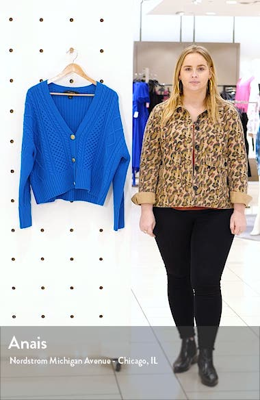 Galway Cable Knit Cardigan, sales video thumbnail