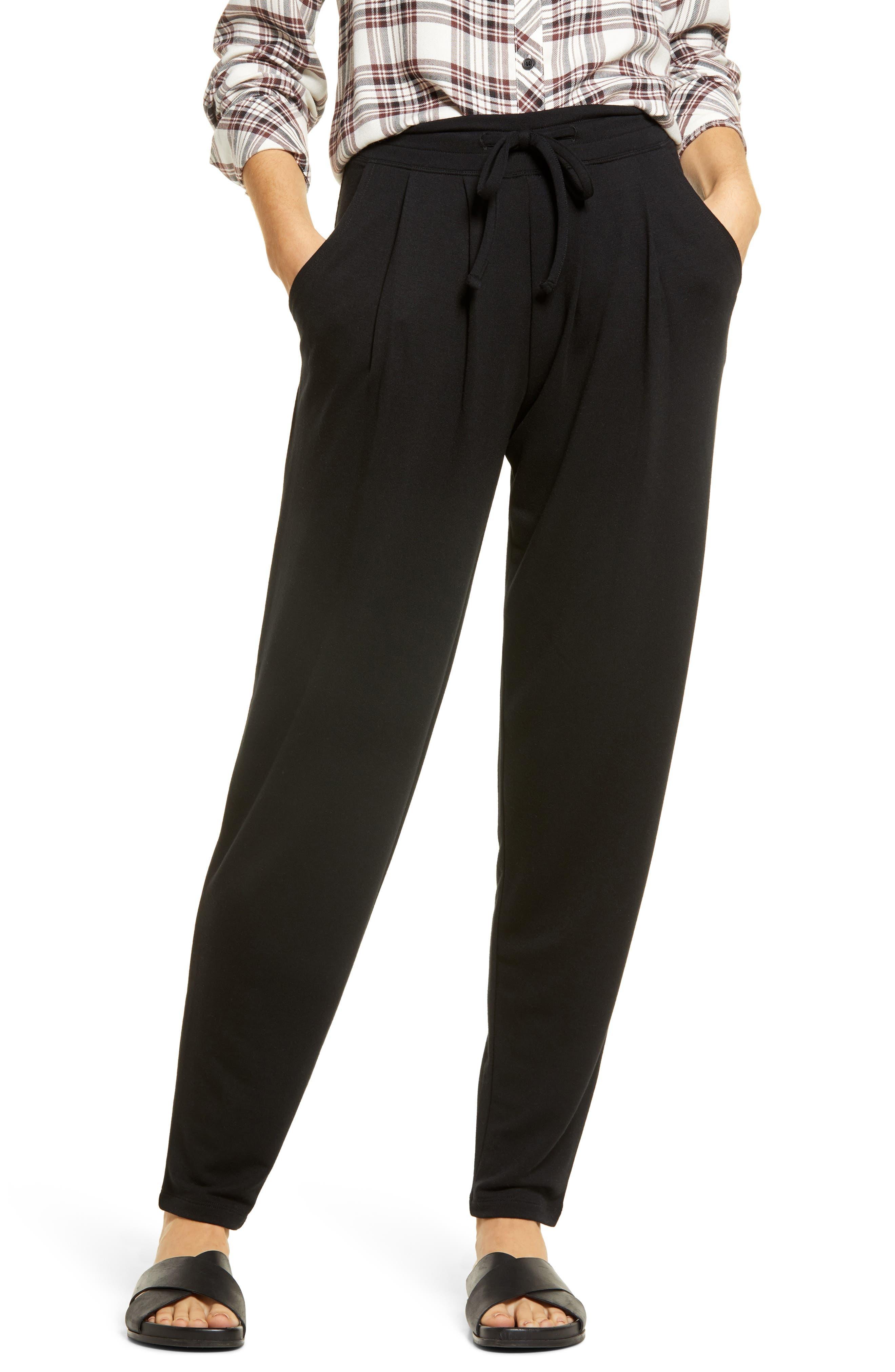Wearever Curbside Pleated Drawstring Pants
