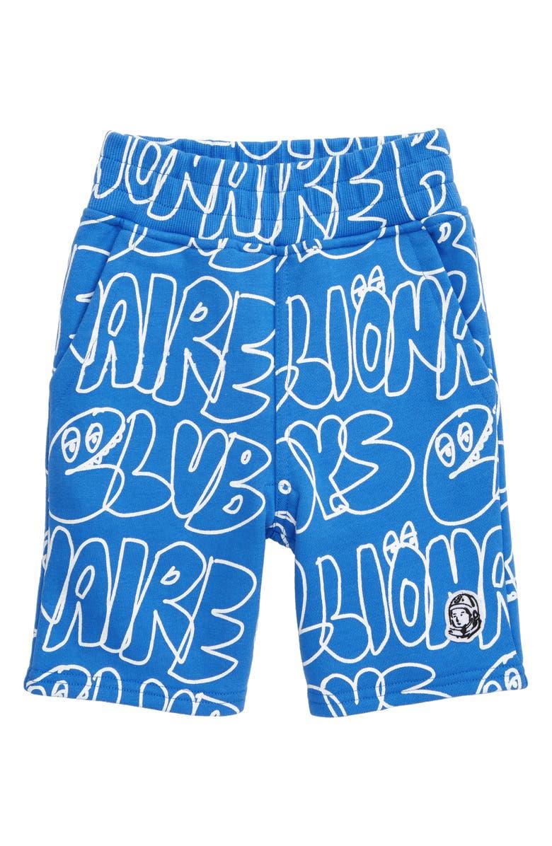 BILLIONAIRE BOYS CLUB Doodles Knit Shorts, Main, color, 400