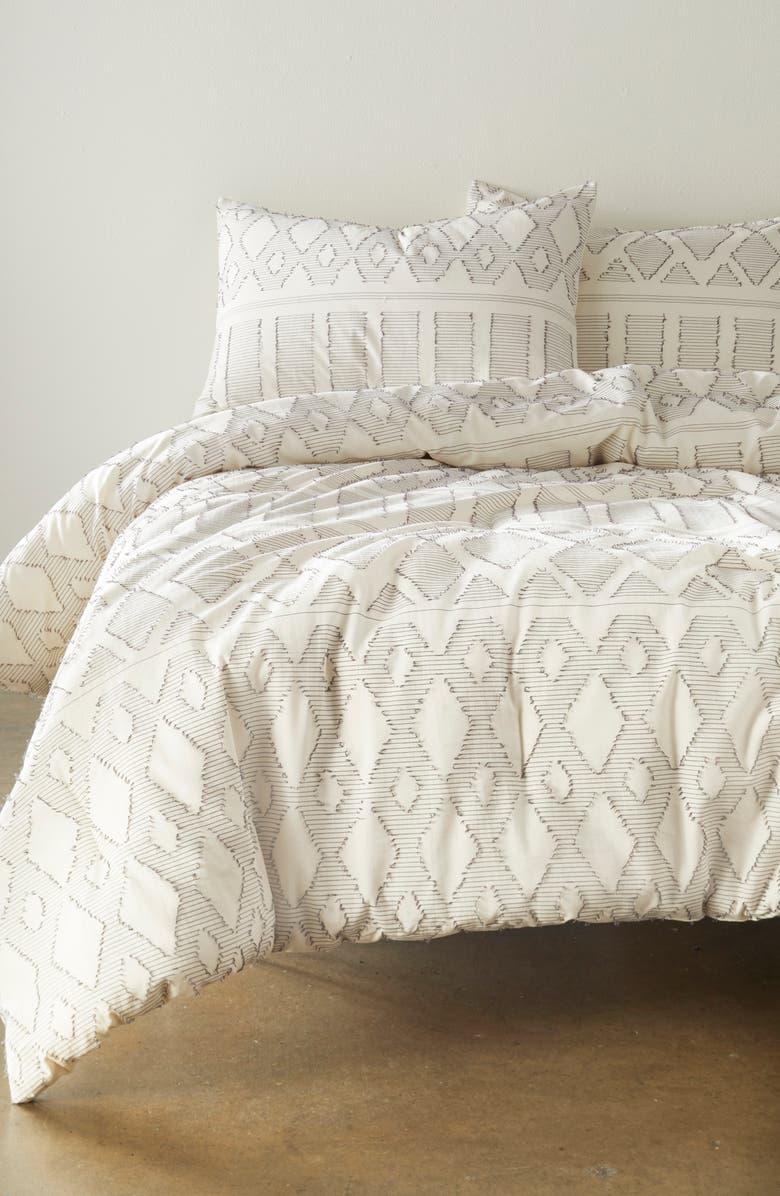 BP. String Jacquard Comforter & Sham Set, Main, color, IVORY MULTI