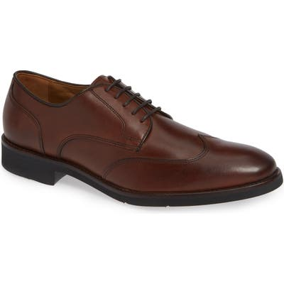 Johnston & Murphy Carlson Wingtip, Brown