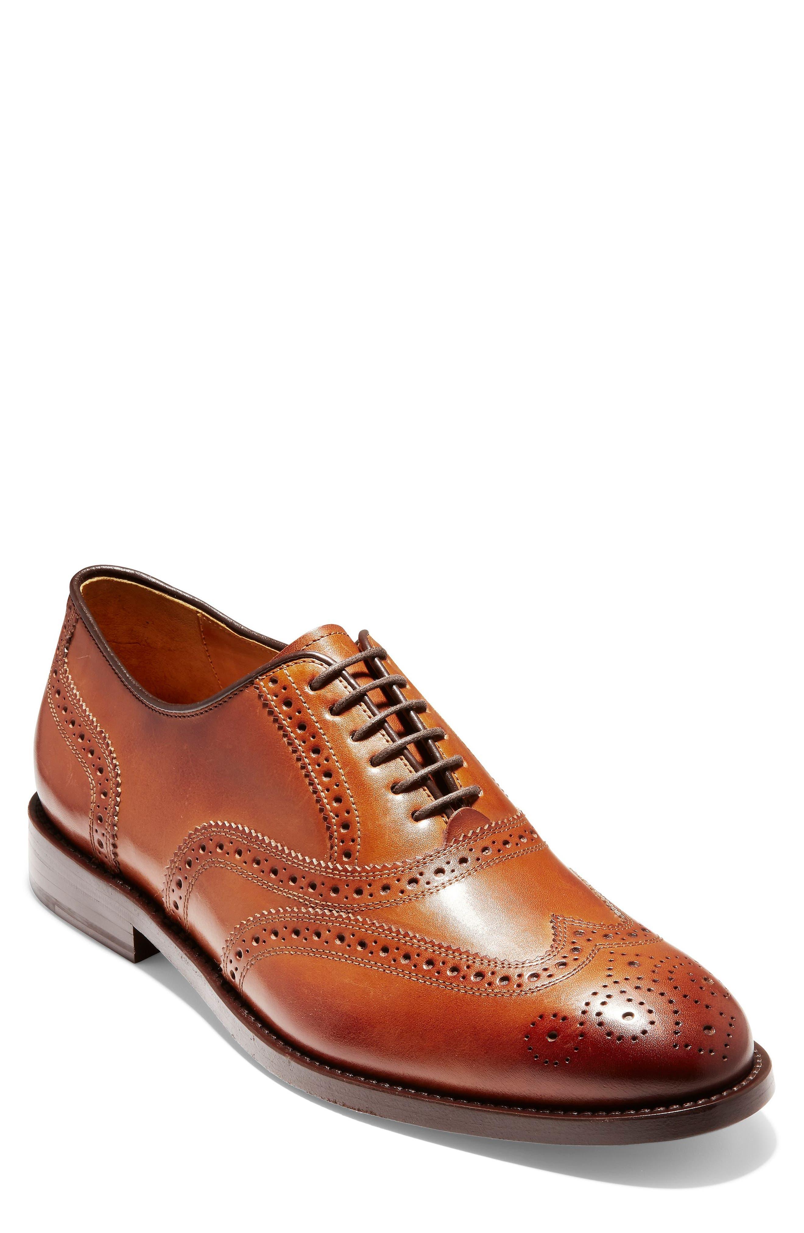 Cole Haan   Kneeland Leather Wingtip
