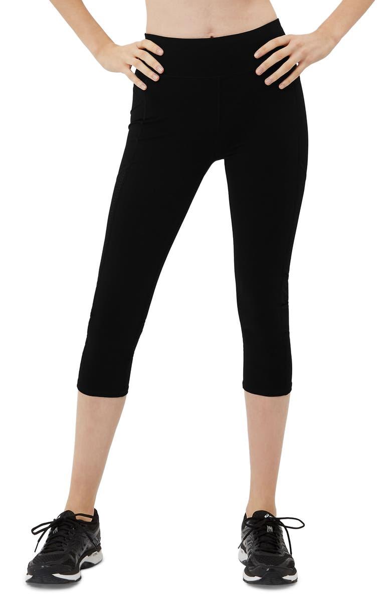SWEATY BETTY Zero Gravity Crop Leggings, Main, color, BLACK