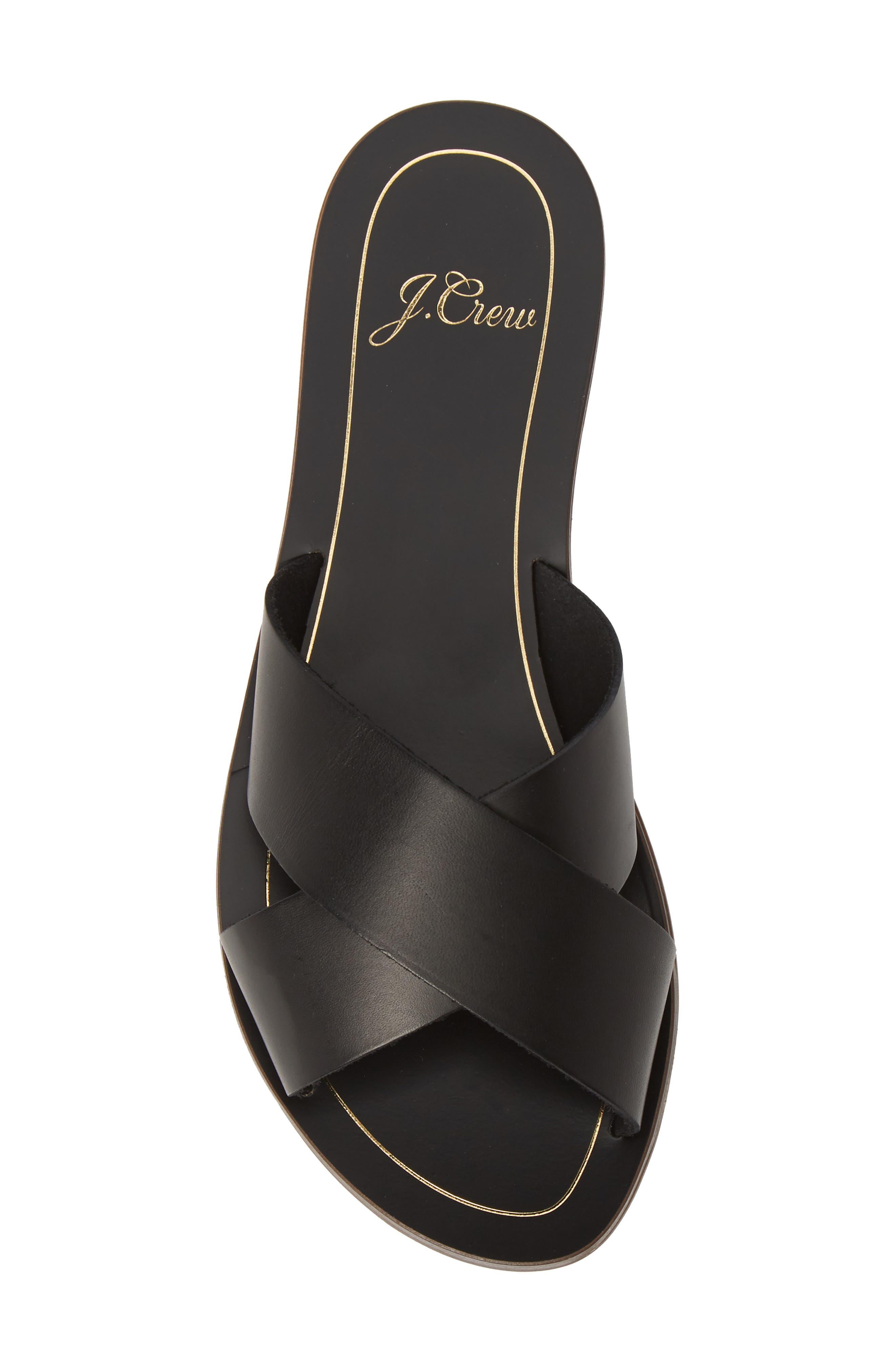 ,                             Cyprus Slide Sandal,                             Alternate thumbnail 5, color,                             BLACK