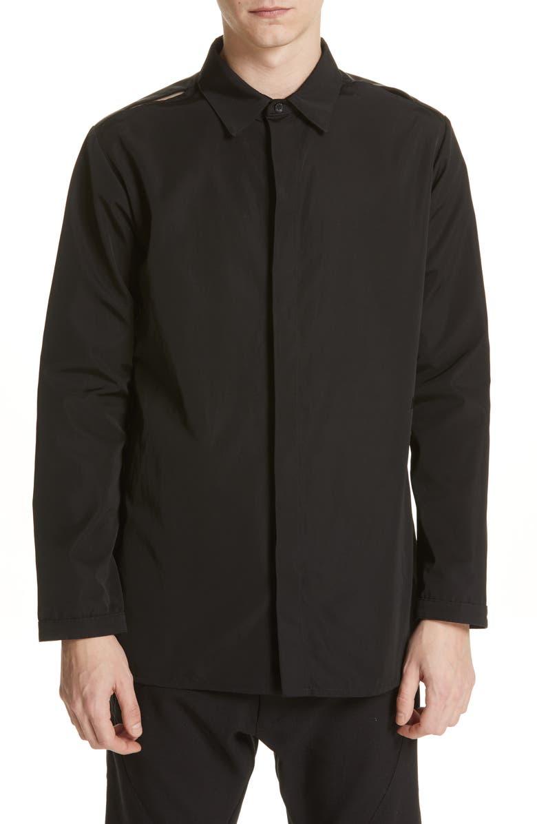 1017 ALYX 9SM Utility Shirt Jacket, Main, color, 001