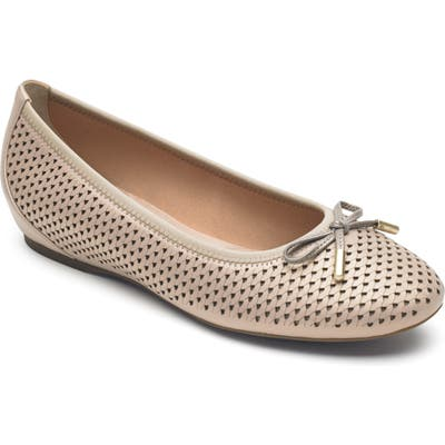 Rockport Total Motion Hidden Wedge Perforated Flat